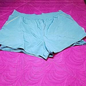 RBX shorts with bike shorts size Large